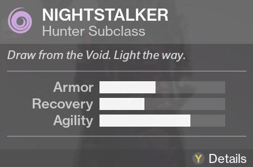 destiny nightstalker subclass