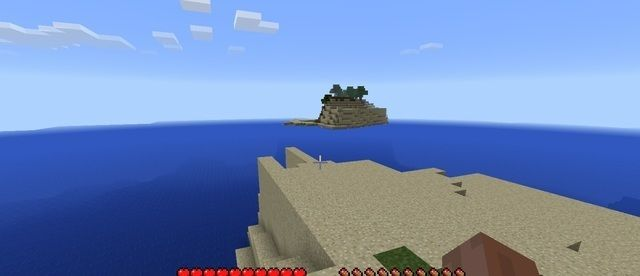 minecraft ocean water world