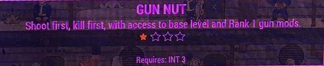 Fallout 4 gun nut perk