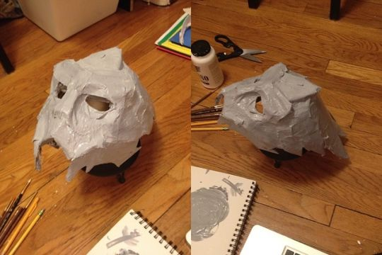 Garrus Cosplay Mask Tutorial