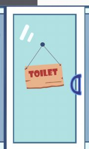 Bathroom minigame