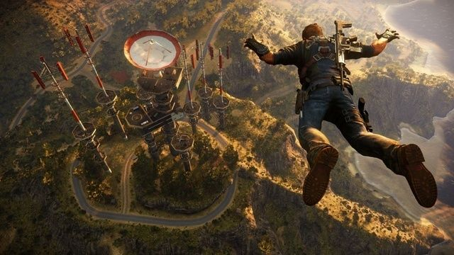 Screenshot from upcoming Just Cause 3