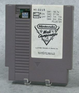 Nintendo World Championships 1990 Cartidge