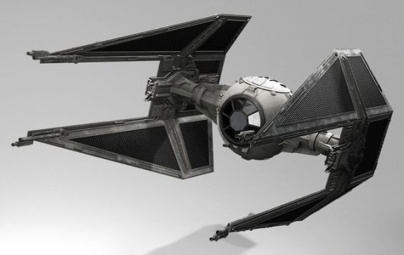 Star Wars Battlefront tie interceptor