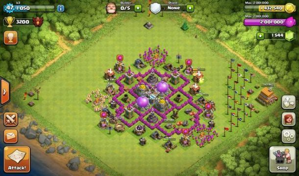 The best clash of clans layouts for farming and defense th4 th6