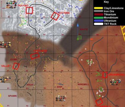 Hurtworld resource map