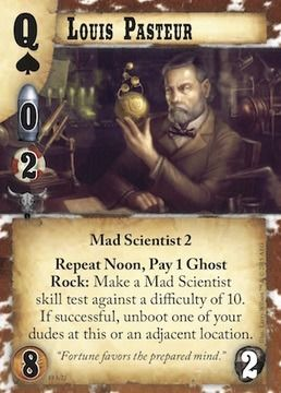 Doomtown Frontier Justice Louis Pasteur preview