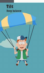 Parachute minigame