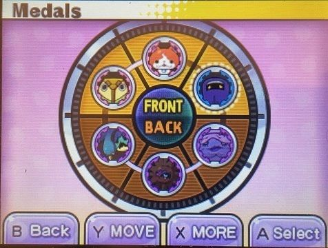 Yo-kai watch battle formation
