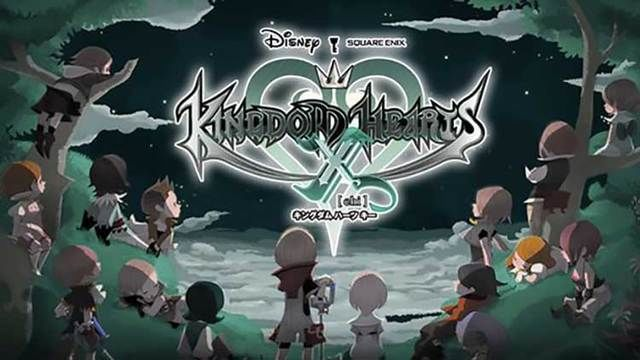 Kingdom Hearts Unchained X promotional shot. E3 2015.