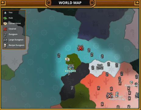 Trove world map