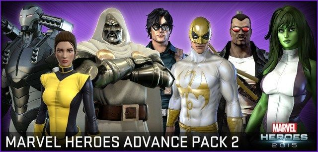 Marvel Heroes Advance Pack 2