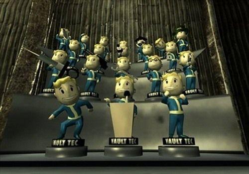 All Vault-Tec Bobbleheads on Display