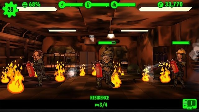 fallout shelter tips fire incident dwellers guide
