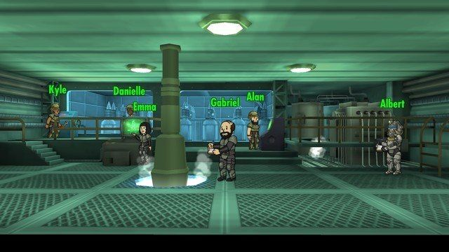 fallout shelter tips power plant upgrade room