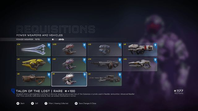 Halo 5 power weapons