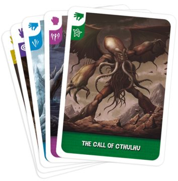 Cthulu playing cards
