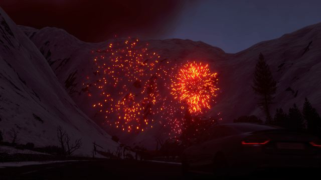 DriveClub Photo Mode Fireworks