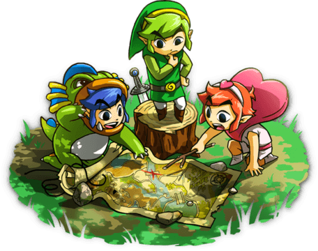 The Legend of Zelda: Tri Force Heroes Map
