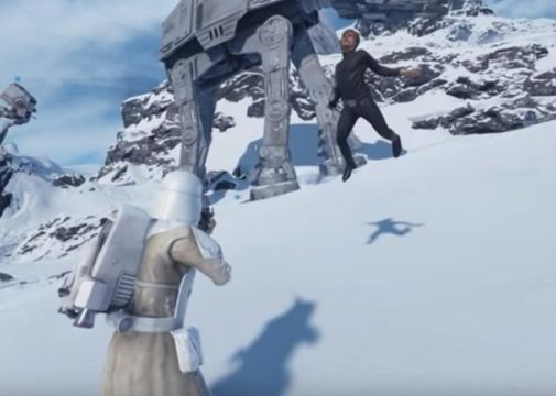 Star Wars Battlefront beta glitch