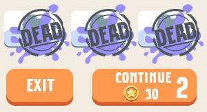 Continue in Die in 100 Ways