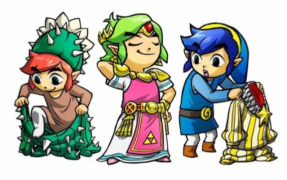 The Legend of Zelda: Tri Force Heroes Fashion Costumes