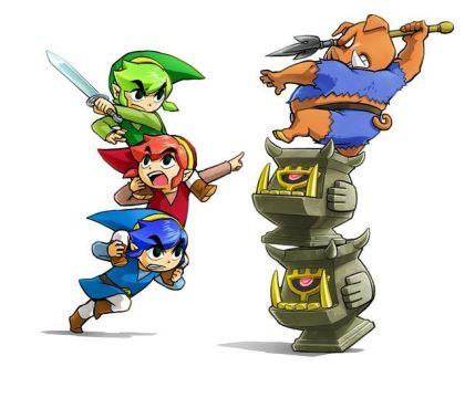 The Legend of Zelda: Tri Force Heroes Totem