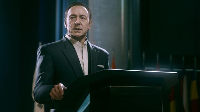 Kevin Spacey in COD: AW