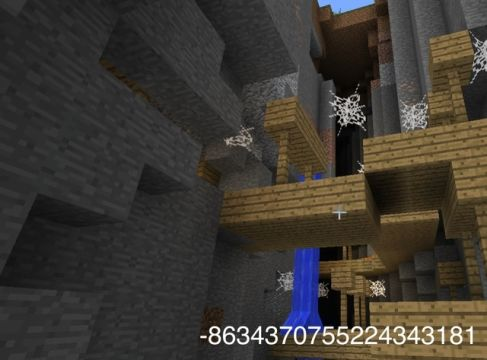 Minecraft seed that spawns near an abandoned mine.