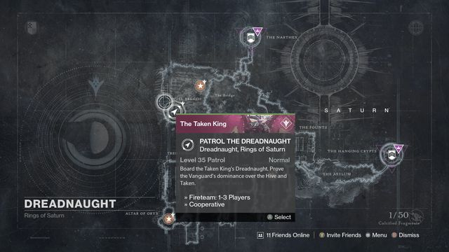 destiny the taken king dreadnaught