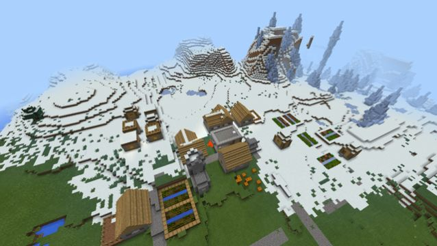 1410403532 spawn near snow village ice spike seed