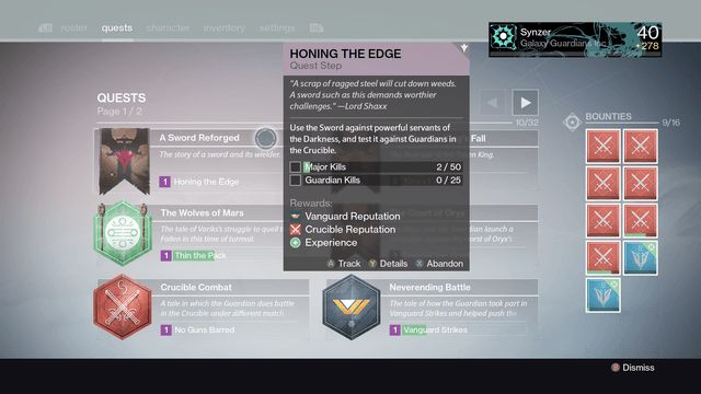 destiny the taken king exotic sword quest