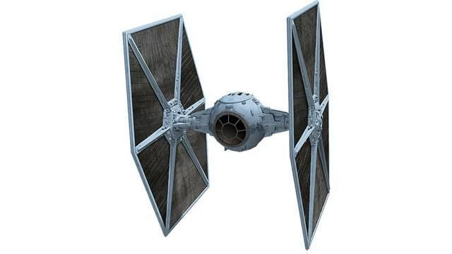 Star Wars Battlefront tie fighter