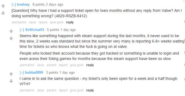 Steam support