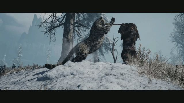 Far Cry Primal Snow Leopard Possible Seasons?
