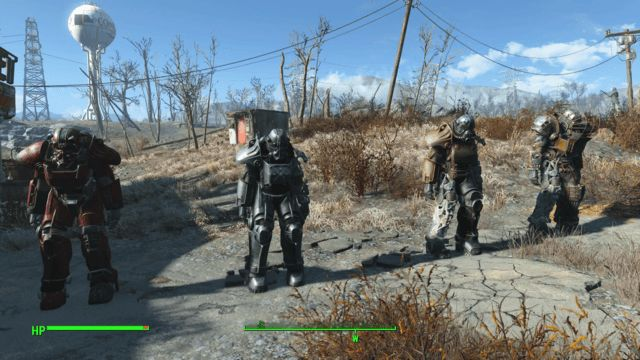 Remaining Fallout 4 Power Armors - T-45, T-51, Raider