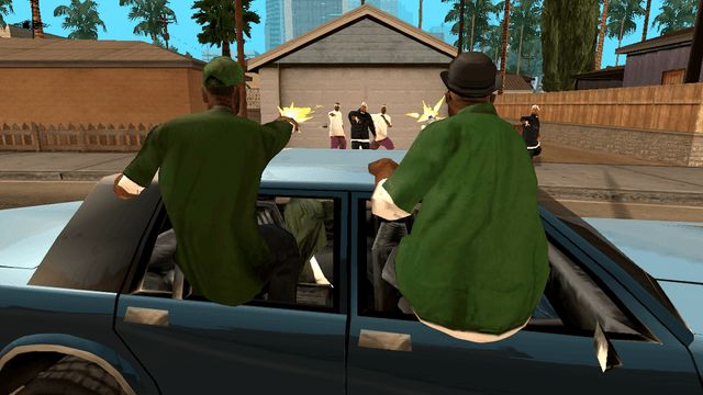 gta san andreas drive by