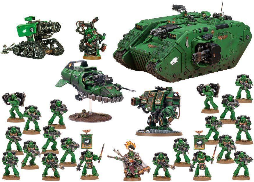How To Pick Your First Warhammer 40k Army Warhammer 40k