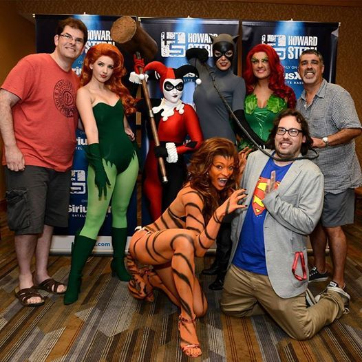 Alicia Marie, center, as Tigra