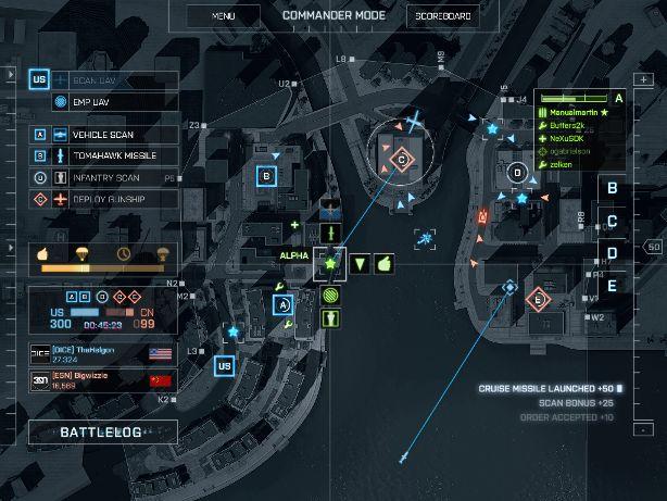 Battlefield 4 Commander Mode Screenshot