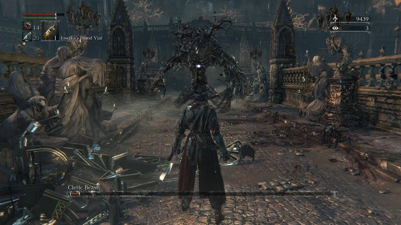 how to kill first bloodborne boss