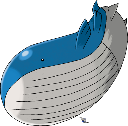Pokemon Mega Wailord Images | Pokemon Images Wailord And Diglett