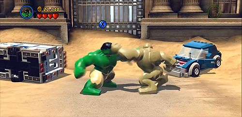 Defeating Sandman In New York City Part I Lego Marvel