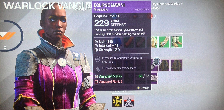 Destiny warlock sunsinger survival raid build destiny