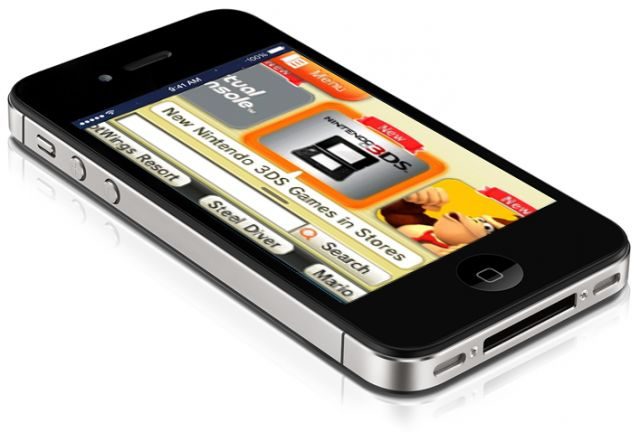 Nintendo eShop Mobile Mockup