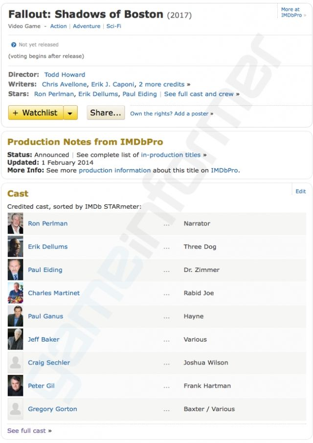 Here's the IMDB page in its glory