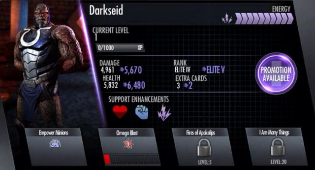 Darkseid Card