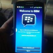 download and setup bbm on your iPhone