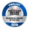 Australian Broking Awards - Residential Broker of the Year 2016 - Finalist