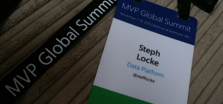 My first MVP Summit – a fantastic reminder
